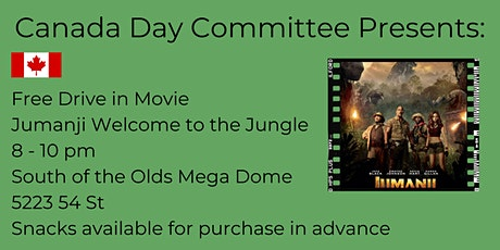 Canada Day Drive in Movie: Jumanji: Welcome to the Jungle tickets