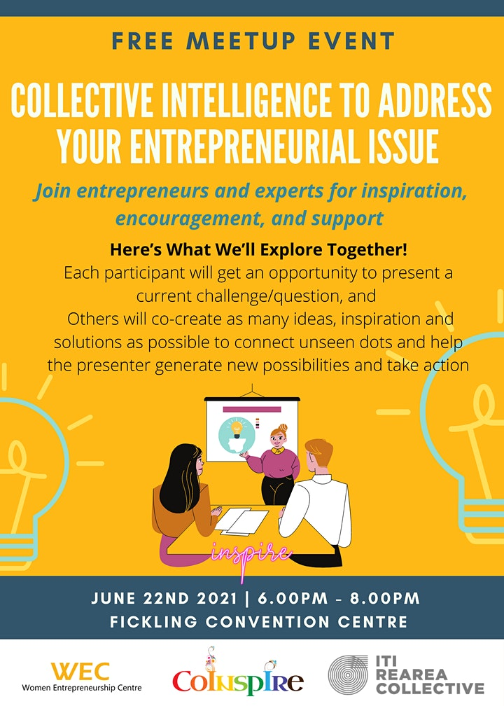 Collective Intelligence to address your entrepreneurial issue image