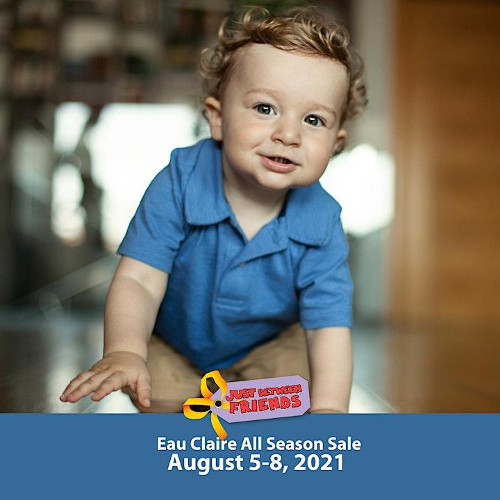 JBF Eau Claire Kids' Sale | Foster Parent Presale Ticket image