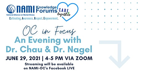 OC in Focus: An Evening with Dr. Chau & Dr. Nagel tickets