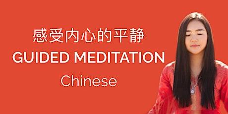 中文冥想 时长1小时  Guided Meditation in Chinese language - International Yoga Day tickets