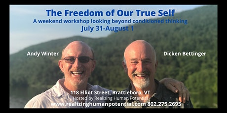 The Freedom of Our True Self tickets