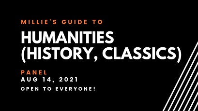 PANEL | Millie's Guide to Humanities [History, Classics] tickets