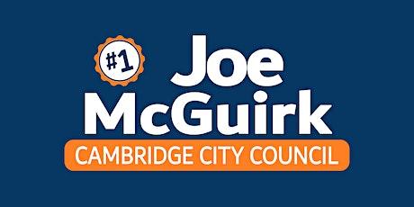 Joe McGuirk for Cambridge City Council Kickoff tickets