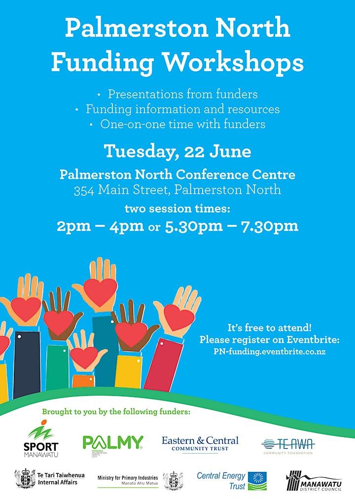 Palmerston North Funding Workshops image