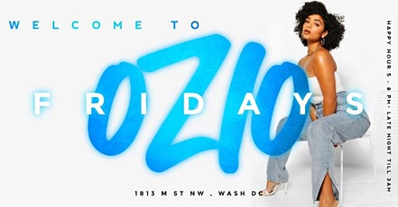 OZIO FRIDAYS : ROOFTOP EXPERIENCE  EVERY WEEK tickets