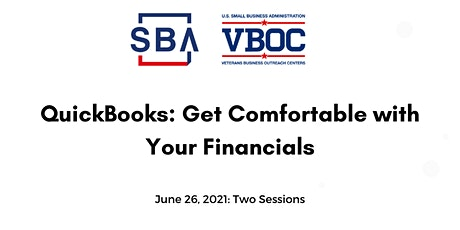 QUICKBOOKS: Get Comfortable with Your Financials tickets