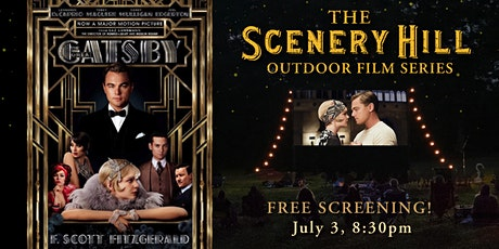 The Great Gatsby Film: Scenery Hill Outdoor Film Series tickets
