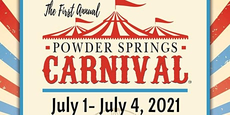 The Carnival Is Coming To Powder Springs!! tickets