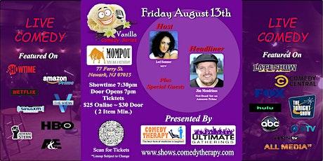 Vanilla Comedy Series  @  Mompou Newark, NJ - August 13th 7:30 Show tickets