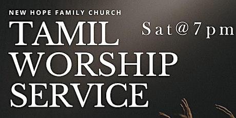 SAT 7 pm Worship Service  [ TAMIL ] tickets