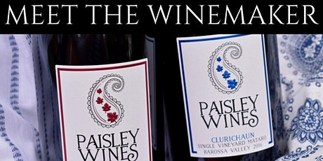 Meet the Winemaker with Paisley Wines, Barossa Valley tickets