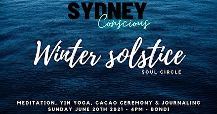 SC - Winter Solstice soul circle - Yin yoga, Yoga nidra, Cacao Ceremony tickets