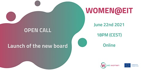 Open call / Launch of the New Board - Women@EIT tickets