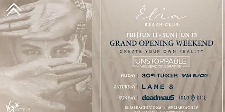 Lane 8 Grand Opening Weekend Pool Party @ Elia Beach Club in Las Vegas tickets