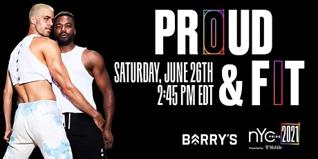 Proud & Fit with Barrys and NYC Pride tickets