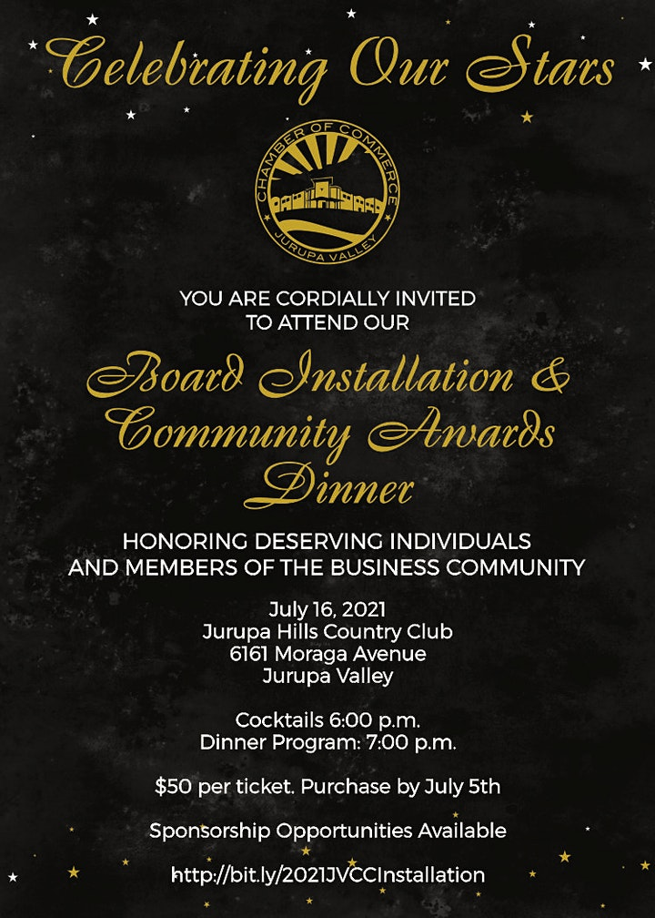 Board Installation and Community Awards Dinner image