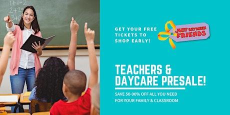 JBF Eau Claire Kids' Sale | Teacher & Daycare Presale Ticket tickets