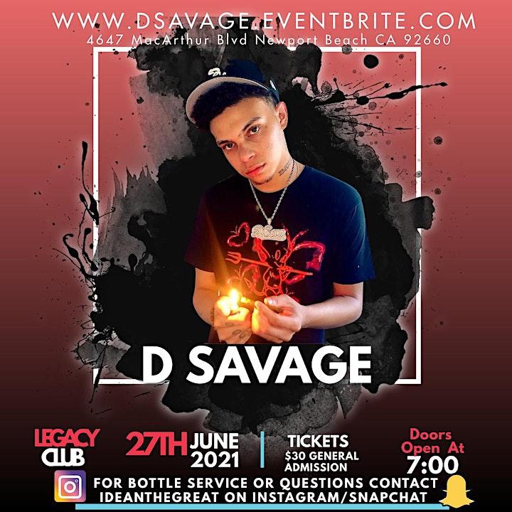 D Savage Concert image