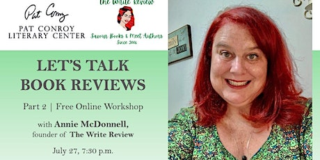 Let's Talk Book Reviews, Led by Annie McDonnell (Rescheduled!) tickets