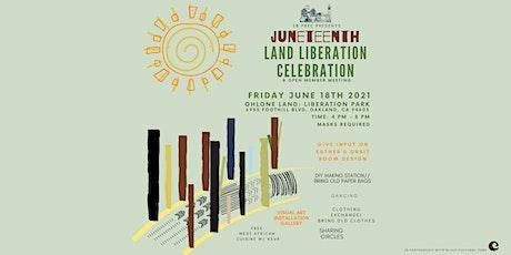 EB PREC Land Liberation Celebration & Open Member Meeting tickets