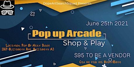 Pop Up Arcade tickets