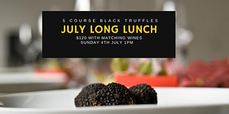 Black Truffle Long Lunch - Central Coast Truffle Month tickets