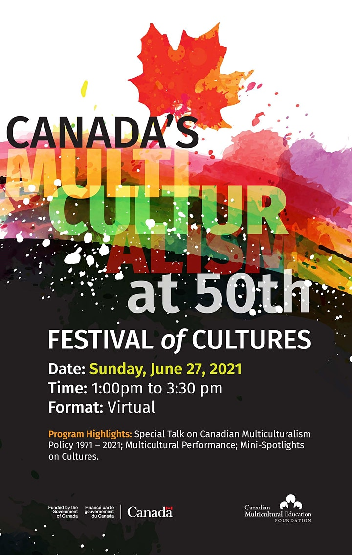 Canada's Multiculturalism at 50th:  Festival of Cultures image