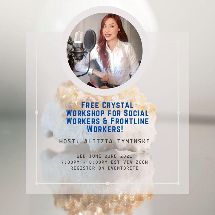 Guide To Crystals for Social Workers and Frontline Workers - FREE image