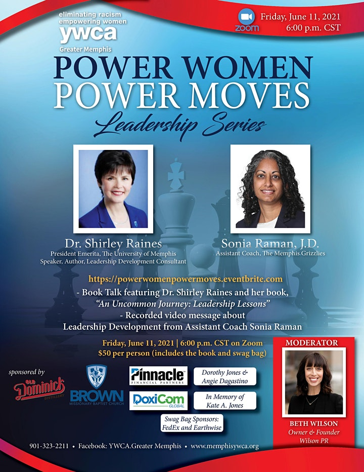 """""""Power Women, Power Moves"""" Book Talk and Leadership Series image"""