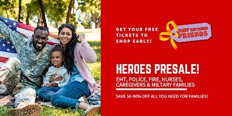 JBF Eau Claire Kids' Sale | Heroes Presale Ticket tickets