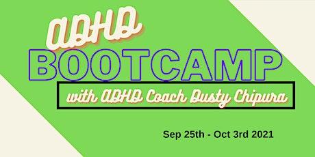 ADHD BOOTCAMP tickets