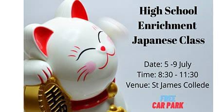 Japanese Holiday Class for High School Students tickets