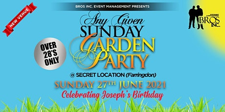 AGS Garden Party - Sunday 27th June 2021 [Covid Secure] tickets