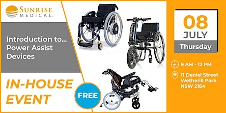 Introduction to Power Assist Devices | Sunrise Medical tickets