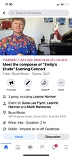 "Meet the composer of ""Emily Etude"" Evening Concert tickets"