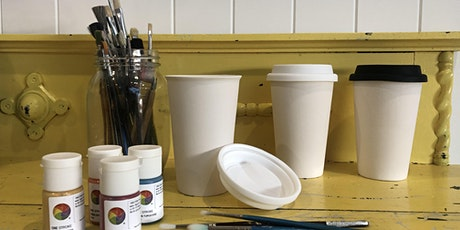 Ceramic Travel Cups (Plastic Free July) @ Mudgee -  Winter school holidays tickets