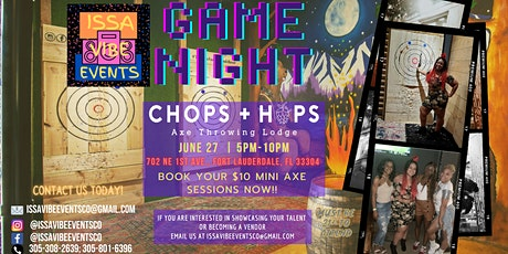 Issa Vibe Pop-Up Game Night billets