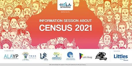 CENSUS 2021 Information Session by ABS tickets