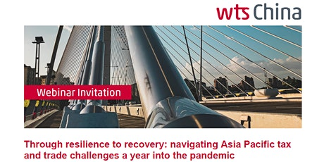 WTS Global Webinar: Through resilience to recovery tickets