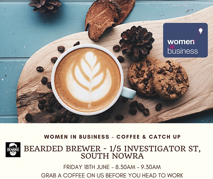 Women in Business: Coffee Catch Up image