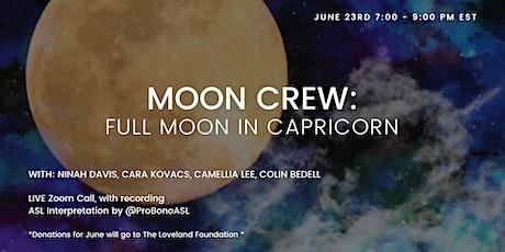 Full Moon in Capricorn tickets