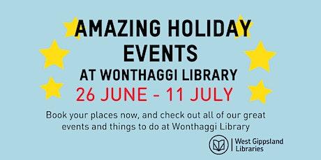 Magical world of Unicorns School Holiday Activity @ Wonthaggi Library tickets