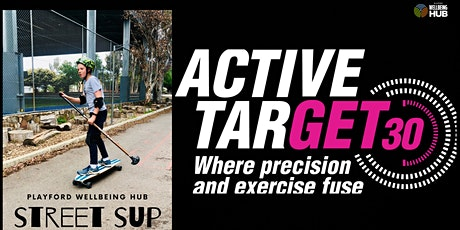 Active Target Laser Shooting & Street SUP  - STRICTLY 13+years Session 2 tickets