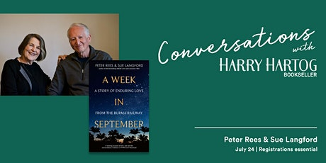 In Conversation with Peter Rees &  Sue Langford tickets