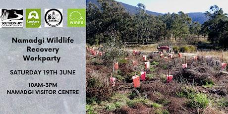 Namadgi Wildlife Recovery Workparty #4 tickets