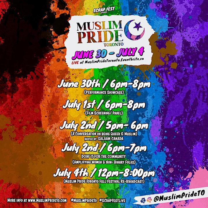 Muslim Pride Toronto 2021 image