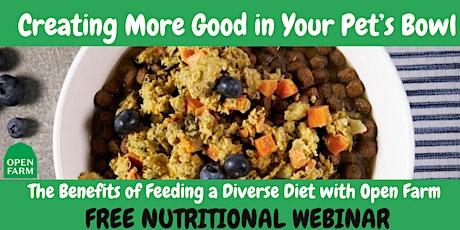 FREE Pet Nutrition Webinar tickets