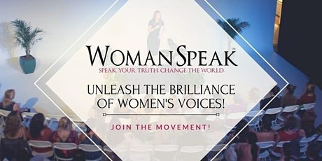 Introducing WomanSpeak™ - Celebrating Your Voice tickets