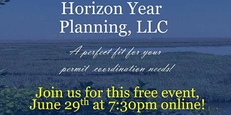 What is on your horizon?  Introduction to Horizon Year Planning LLC tickets